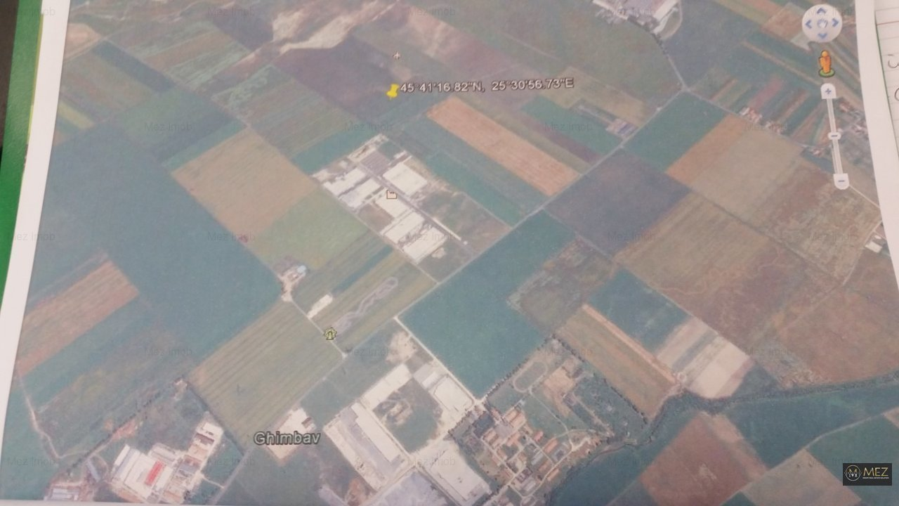 Teren 5,28 ha, Ghimbav